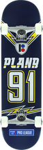 Plan B - B Charged Complete - 8.0 Navy - Complete Skateboard