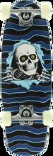 Powell Peralta - Micro Mini Ripper 6 Complete - 7.5x24 Blk/blue - Complete Skateboard