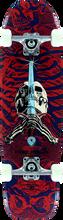 Powell Peralta - Mini Skull & Sword 6 Complete - 8x30 Navy/red - Complete Skateboard
