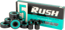 Rush - Abec - 5 Bearings W/spacers Ppp - Skateboard Bearings