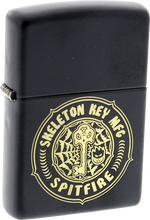 Spitfire - Skeleton Key Zippo Lighter Blk/gold