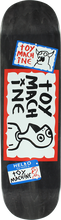 Toy Machine - Hello My Name Is Deck - 8.37 - Skateboard Deck