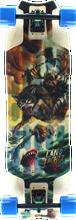 Landyachtz - Wolf Shark Hollow Tech Complete - 10x35.5 - Complete Skateboard