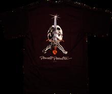 Powell Peralta - Skull & Sword Ss S - black - Skateboard Tshirt