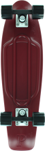 "Penny Skateboard - 27"" Nickel Complete Burgundy/blk"