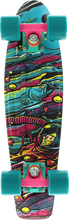 "Penny Skateboard - 22"" Complete Sea Space"