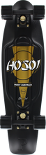 "Penny Skateboard - Hosoi 30th 27"" Nickel Complete Blk/gold"
