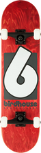 Birdhouse - High-grade B Logo Complete-8.0 Red/blk (Complete Skateboard)