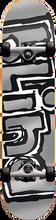 Blind - Og Matte Mid Complete-7.25 Silver Ppp (Complete Skateboard)