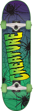 Creature - Web Complete-7.5 Green (Complete Skateboard)