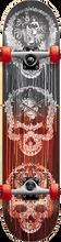Darkstar - Addiction Complete-8.0 Red Fade (Complete Skateboard)