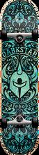 Darkstar - Convolute Complete-7.25 Aqua Swirl Ppp (Complete Skateboard)