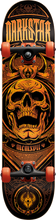 Darkstar - Crest Complete-7.75 Blk/org (Complete Skateboard)
