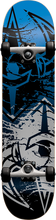 Darkstar - Drench Complete-7.62 Sil/blk Ppp (Complete Skateboard)