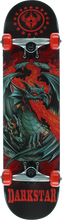 Darkstar - Dragon Complete-7.62 Red Ppp (Complete Skateboard)