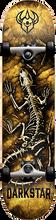 Darkstar - Fossil Complete-7.25 White Ppp (Complete Skateboard)