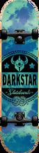 Darkstar - General Complete-7.87 Blue Tie Dye (Complete Skateboard)