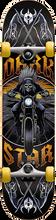 Darkstar - Roadie Complete-7.37 Blk/yel Ppp (Complete Skateboard)