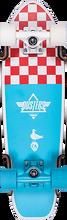 "Duster - Bird 25"" Cruiser Complete Blu/red Checker (Complete Skateboard)"
