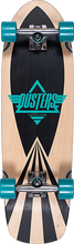 Duster - Cazh Cruiser Complete-8.75x29.5 Turquoise (Complete Skateboard)