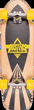 Duster - Cazh Cruiser Complete-8.75x29.5 Nat/bk/yel (Complete Skateboard)