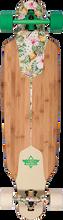 """Duster - Channel Hawaiian Complete-38"""" Grn/off Wht (Complete Skateboard)"""