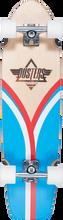 """Duster - Flashback Cruiser Complete-31"""" Blu/red/nat (Complete Skateboard)"""
