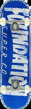 Foundation - Thrasher Complete-8.0 Blue (Complete Skateboard)