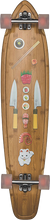 Globe - Byron Bay Complete-9.5x43 Bamboo/sushi (Complete Skateboard)