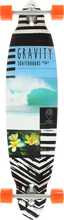 Gravity - Pin Drop Lifes A Beach Complete-9.25x40 (Complete Skateboard)