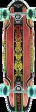 Gravity - Routered Rasta Complete-7.81x30 Red/rasta (Complete Skateboard)