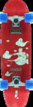 Kebbek - Shortcut Cruiser Complete-8x30.75 Red (Complete Skateboard)
