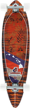 Layback Longboards - Hawaiian Fauna Complete-9.75x38 (Complete Skateboard)