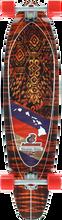 Layback Longboards - Hawaiian Shaka Complete-9.87x40 (Complete Skateboard)