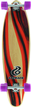 Layback Longboards - Yin Yang Kicktail Complete-9.75x38 Ppp (Complete Skateboard)