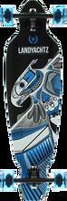 Landyachtz - Battle Axe 35 Thunderbird Complete-9x35.25 Blu (Complete Skateboard)