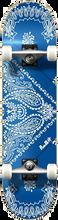 Punked - Bandana Complete-8.0 Blu/wht Ppp (Complete Skateboard)