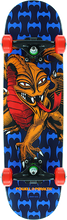 Powell Peralta - Cab Dragon Complete-7.5x28.65 Blu/org/red (Complete Skateboard)