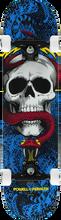 Powell Peralta - Skull & Snake Complete-7.62 Blu/blk/red (Complete Skateboard)