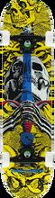 Powell Peralta - Skull & Sword Complete-7.5x31.37 Yel/blu (Complete Skateboard)
