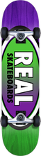Real - Oval Ii Fade Md Complete-7.75 Grn/pur (Complete Skateboard)