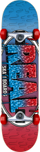 Real - Slime Fade Md Complete-7.75 Red/blu (Complete Skateboard)
