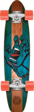 Santa Cruz - Jammer Stained Hand Pickle Complete-6.8x28.95 (Complete Skateboard)