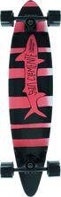 San Clemente - Pink Lady Complete-8.25x36 Blk/pink (Complete Skateboard)