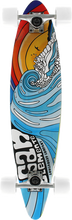 San Clemente - Stained Glass Iii Mini Pin Complete-7.75x33 (Complete Skateboard)