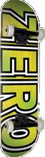 Zero - Bold Complete-7.87 Yel/grn Fade (Complete Skateboard)