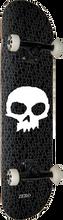 Zero - Single Skull Complete-8.0 Blk/wht (Complete Skateboard)