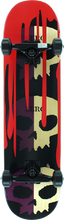 Zero - 3 Skull Blood Split Complete-7.3 Pur/nat (Complete Skateboard)
