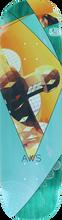 Alien Workshop - Geodesic Deck-8.0 (Skateboard Deck)