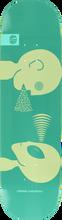 Alien Workshop - Mind Control Lg Deck-8.5 Teal/wht (Skateboard Deck)
